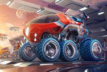 Sci- fi vehicles inspiration