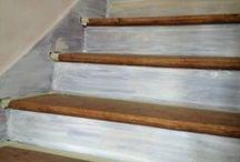 Escalier peintre