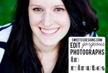 Photo Editing Tips / Someday I'll come back and actually learn all these photo editing tips!