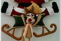 Karácsonyi textil