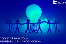 Today DO's make your Business Success on Tomorrow / - Keep a track of customer's feedback and information sharing in all sorts of places with relatives/neighbors/friends, etc - Understand the needs of the customers are important and it varies from one business to the other...http://maxxerp.blogspot.in/2014/01/today-dos-make-your-business-success-on.html