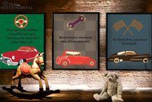 TDH Art | Retro car prints