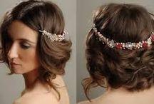 Para cabelos curtos / Inspirações para penteados em cabelos curtos.