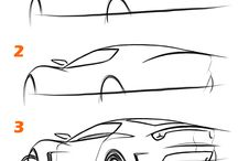 car drawings