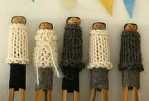 old pegs so lovely....