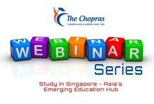 Webinar on study in singapore,Webinar on Study Abroad