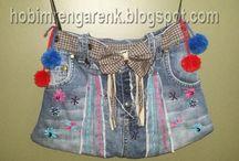 Kot Çantalar --Jeans bags