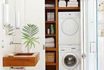 Badezimmer / Waschmaschine im Bad