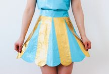 Duct tape dress / Potential Duct tape dresses