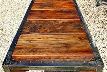 angle iron furniture