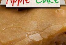 Apple pies, cakes