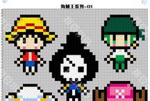 z - pixel art - One Piece