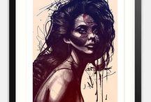 Affiches d'art, posters, Art mural, éditions limitées / Vente en ligne d'affiches d'art en édition limitées, postes, oeuvres encadrées réalisées par des artistes talentueux et en vogue.