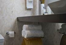 Interiores para baños / Cuartos de baño, decoracion y reformas de baños.Ideas para muebles de baño y baños modernos. Uso de mamparas para baños y diseños con azulejos para baños. Diseño de baños rusticos.