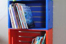 Children book Shelves