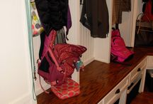 Mudroom project in Carmel, Indiana / A recently completed mudroom remodel and renovation in Carmel Indiana