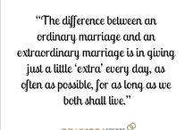 M A R R I A G E _ Q U O T E S / Inspirational quotes for couples to live by...
