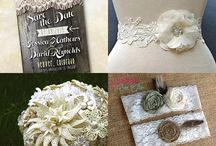 Rustic Lace Wedding