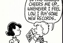 Comics about Vinyl Records and Music / by MusicStack