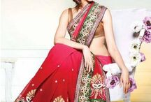 Bollywood beauty in saree