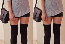 outfits con medias