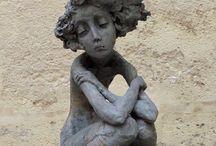 sculpture terre