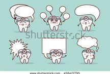 Dentes fofos