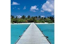 PLAYAS / Fotomurales de Playas, paisajes paradisíacos de playas y lugares maravillosos.