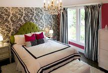 Girls bedroom ideas / by Robin Bianchini