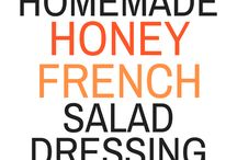 Salad Dressings, Condiments & Dips