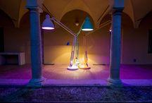 Interni Open Borders in Piacenza / Our oversize lamps for Interni Open Borders.