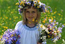 Blomsterkrans/flowers in my hair