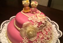 My home / Hallo Kitty cake