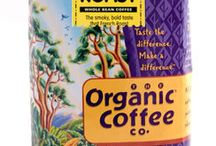 """Organic Coffee / Natural Organic Coffee Grounds.  These coffee beans have been certified """"USDA Organic"""" by OCIA. This means they're grown without chemical fertilizers, pesticides, or herbicides. Please note that while all Rogers Coffee is Responsibly Grown on bio-diverse shade-grown farms, our Organic Coffee Co. brand features only coffee whose farms that have specifically become organic certified. http://www.natureshappiness.com/organic-coffee/"""