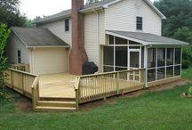 porch/deck/backyard