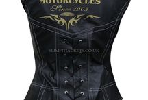 Women's Black Harley Davidson Biker Leather Vest / Women's Black Harley Davidson Biker Leather Vest is available at Slimfitjackets.co.uk at a discounted price with free shipping across UK, USA, Canada and Europe. For details, please visit: https://goo.gl/uQgYga