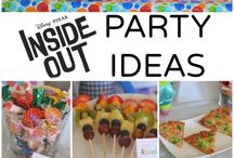 Dani's Inside Out Birthday Party Ideas