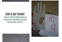 Sy handskar mönster