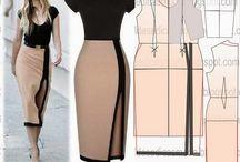 Moldes Especiais de Vestidos