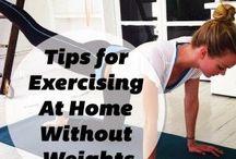 Fitness / Interesses em atividades em casa