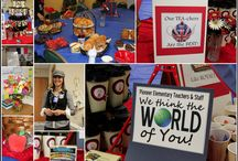 We Think the World of You - Teacher Appreciation / by Hip to be a Square Quilting