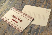 Christmas & New Year Postcard
