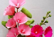 Paper Flowers - Stokroos RH