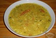 potaje o sopa con huuevo