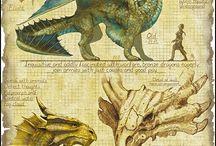 Créatures légendaires et mythologie