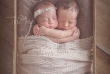 newborn pics for the twins