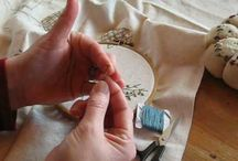 embroidery and sewing / by Eleftheria Vogiatzi