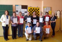 Úspešní absolventi opatrovateľských kurov VaV