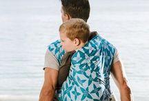 Fidella baby wrap - Blossom -ocean blue- Inspirations