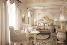 Interiors in classic style